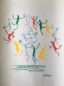 Pablo Picasso ~ Danse ~ The Dance Of Youth 1961 - By James Wilson