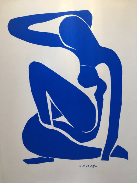 Henri Matisse ~ The Cut Outs ~ Blue Nude I 1952 - By James Wilson