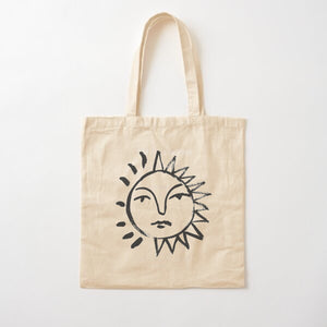 'Sunlight' Natural tote bag - By James Wilson