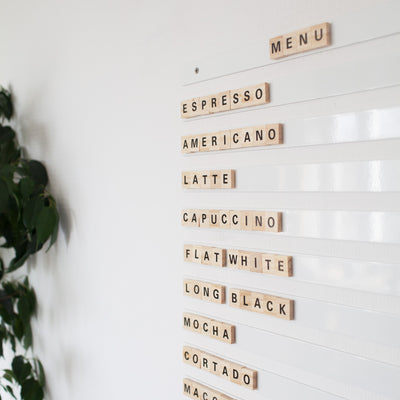 Scrabble Display