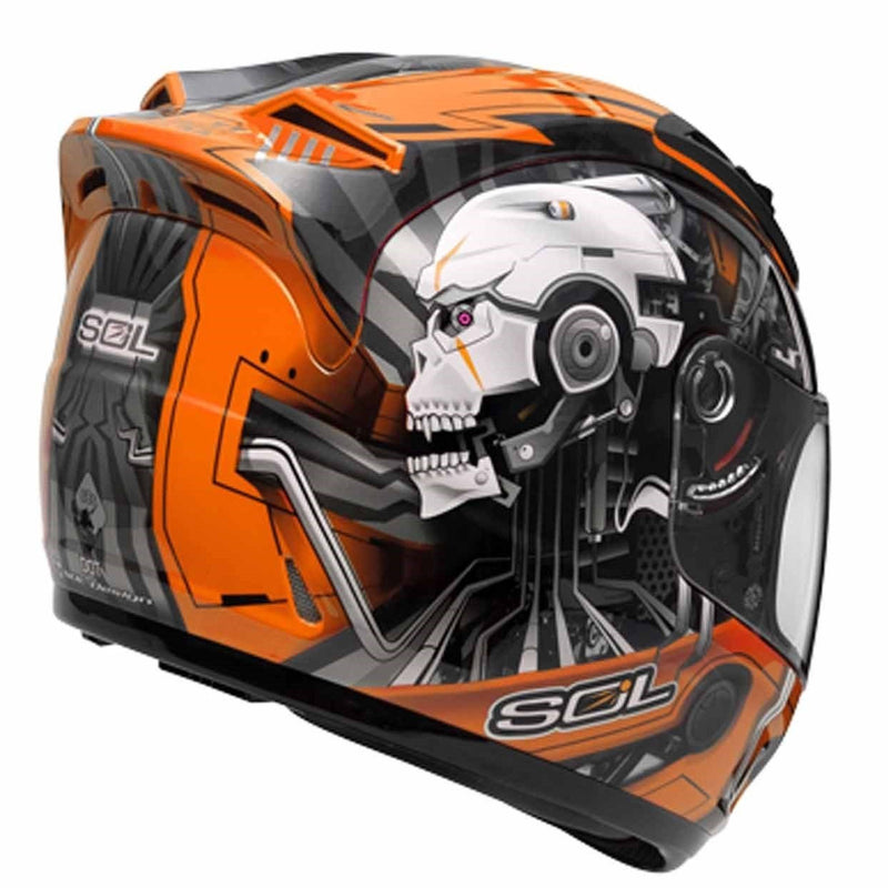 SOL SL-68S II METAL MAN ORANGE / SILVER