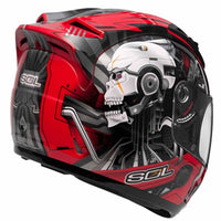 SOL SL-68S II METAL MAN RED / SILVER