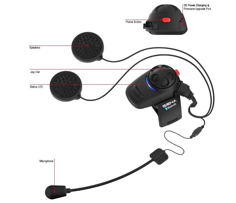 Sena SMH5 Bluetooth Headset & Intercom (SMH5-Univ)