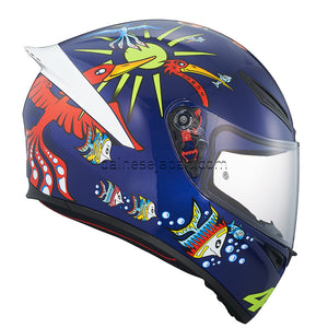 AGV K1 White Zoo Blue