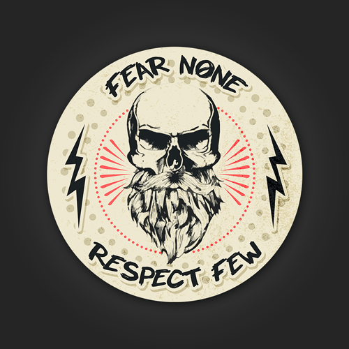 Fear None Respect few - Sticker