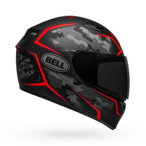 Bell Qualifier Stealth Camo Matte Black Red
