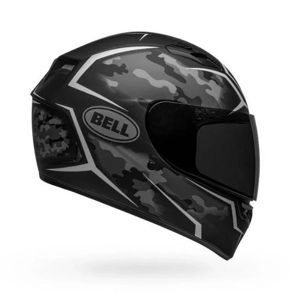 Bell Qualifier Stealth Camo Matte Black White