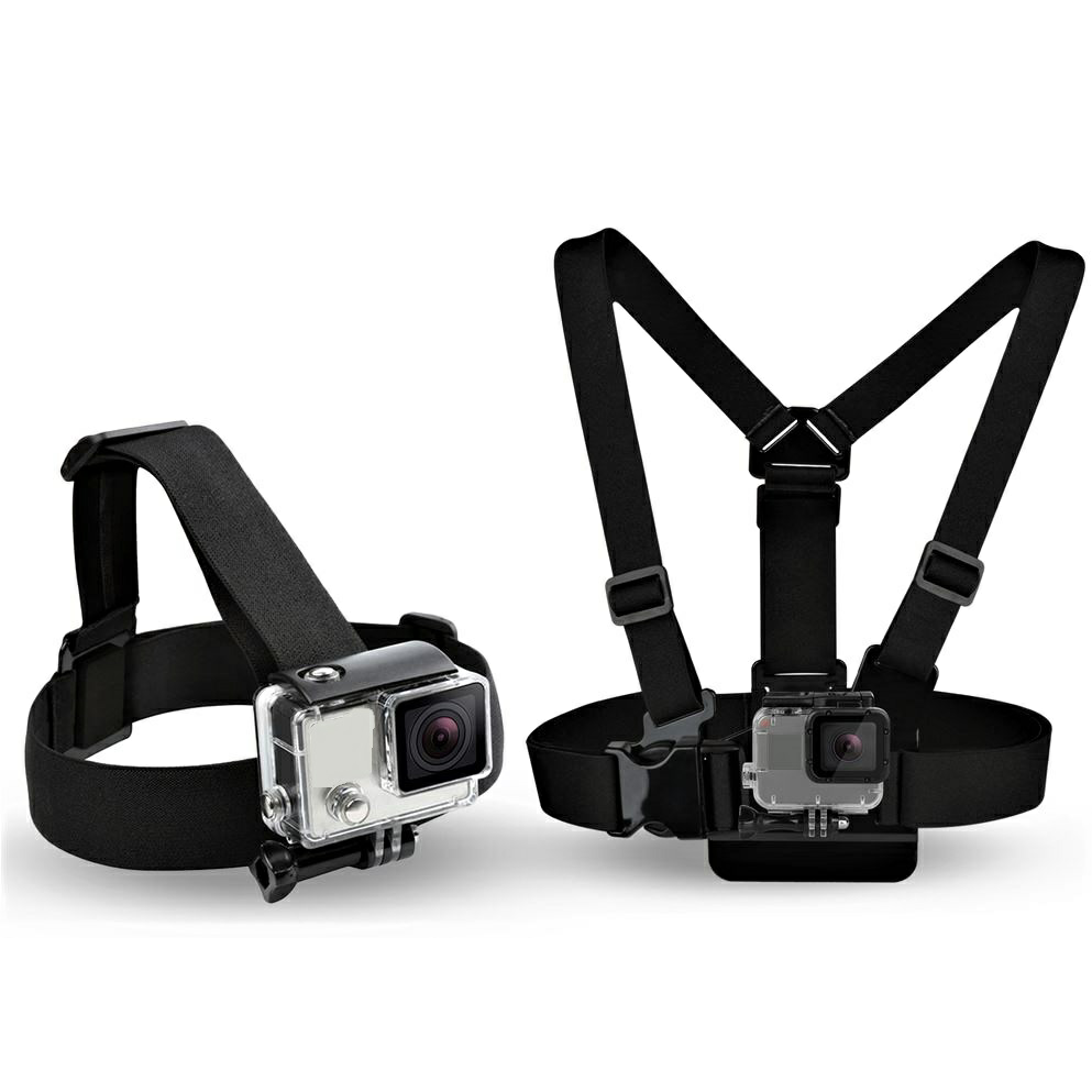 2 in 1 Chest Strap mount + Head Strap mount