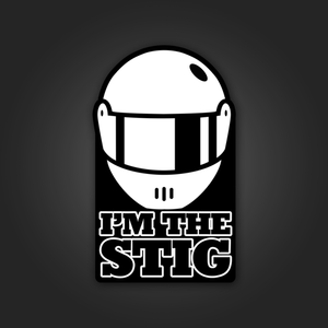 I'm the Stig - Sticker