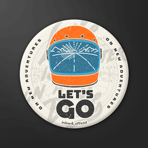 Lets Go - Badge