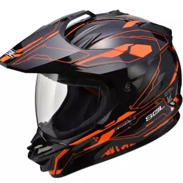 SOL SS-01 Edge Black Orange