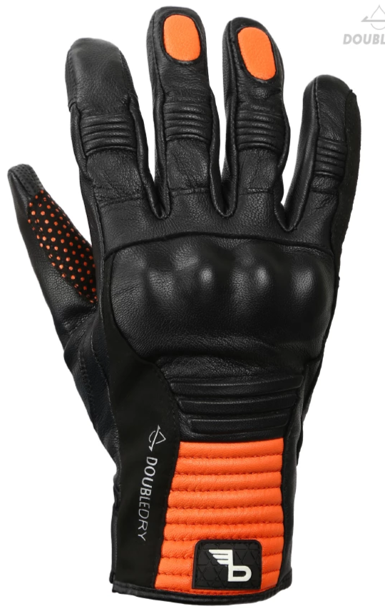 Bikeratti Meridian Gloves - Black Orange