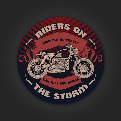 Riders on the Storm - Sticker