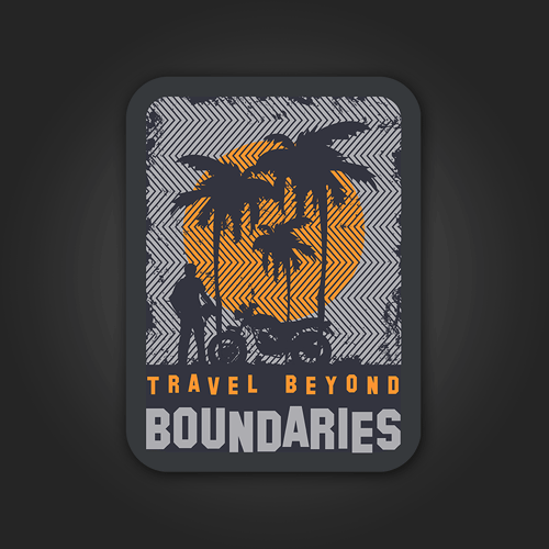 Travel Beyond Boundaries - Sticker