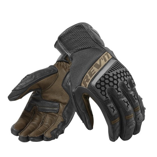 Rev'it! Sand 3 Gloves - Black Sand