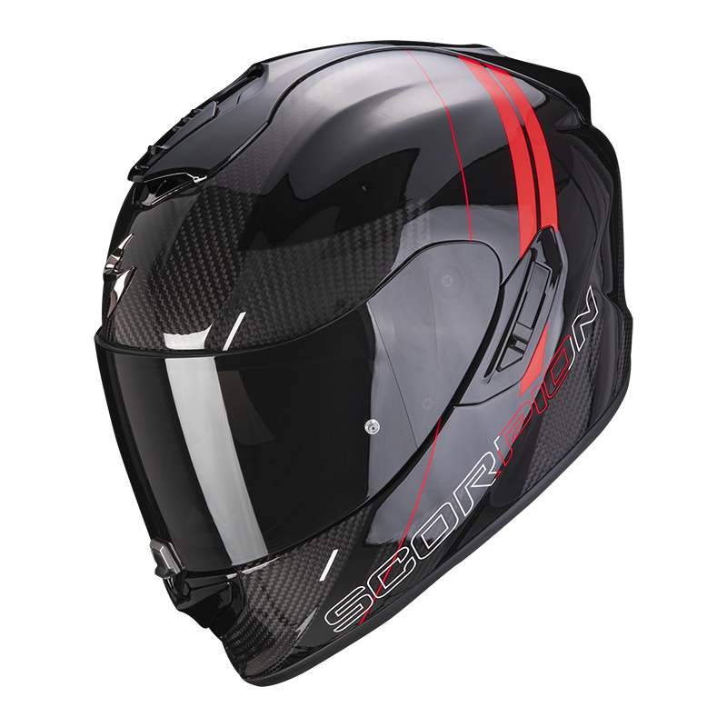 SCORPION EXO-1400 CARBON AIR DRIK RED
