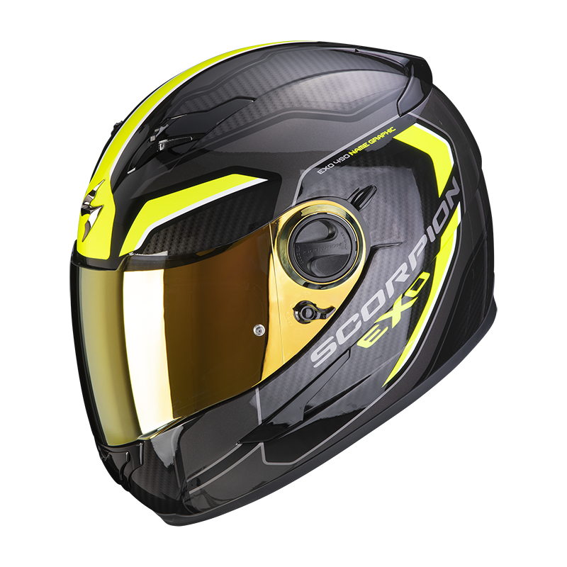 SCORPION EXO-490 SUPERNOVA BLACK YELLOW