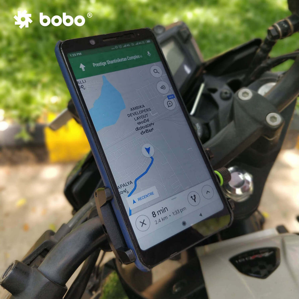 Bobo Claw-Grip Aluminum Motorcycle Mobile Mount