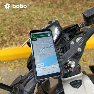 Bobo Jaw-Grip Aluminum Motorcycle Mobile Mount