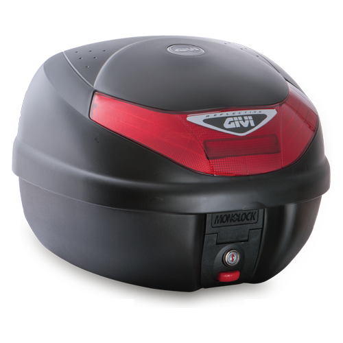 Givi - E30TN Monolock Top Case - Red reflectors