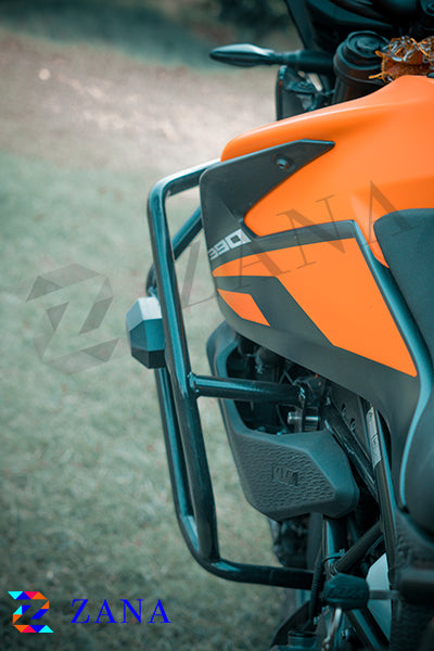 CRASH GUARD WITH SLIDER FOR KTM 390 ADV
