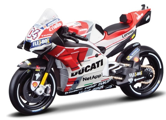 Maisto Moto GP Team Ducati 2018 1:18 Scale Model