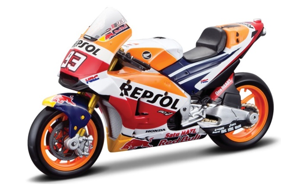 Maisto Moto GP Team Repsol Honda 2018 1:18 Scale Model