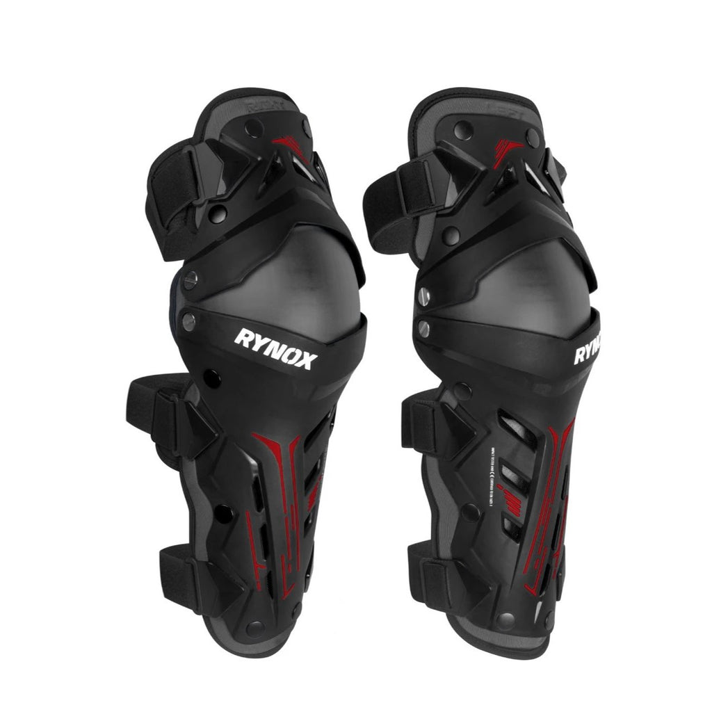 RYNOX BASTION BIONIC KNEE GUARDS - BLACK