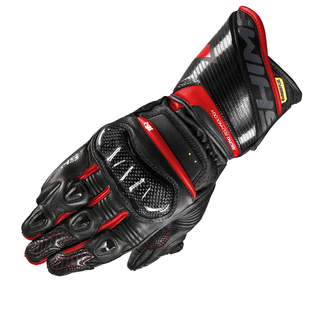 Shima RS-2 Full Gauntlet Gloves - Red