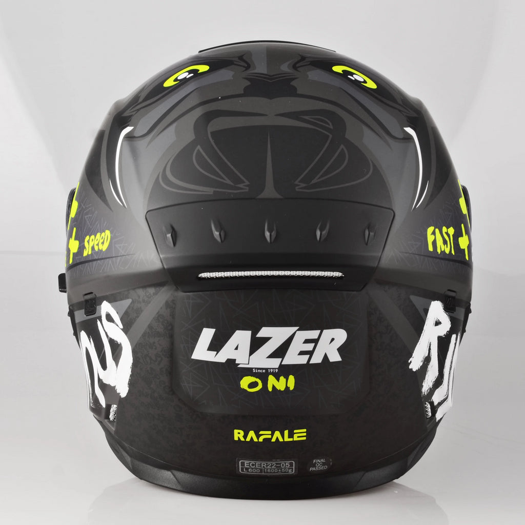Lazer Rafale  Oni-Grey - Black Dark Grey