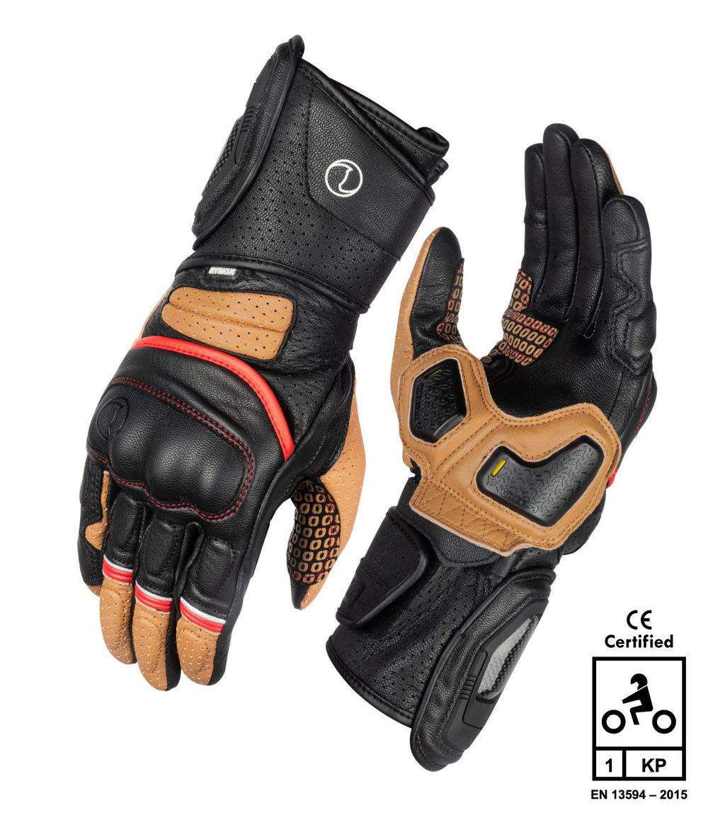 RYNOX STORM EVO 2 GLOVES - BROWN