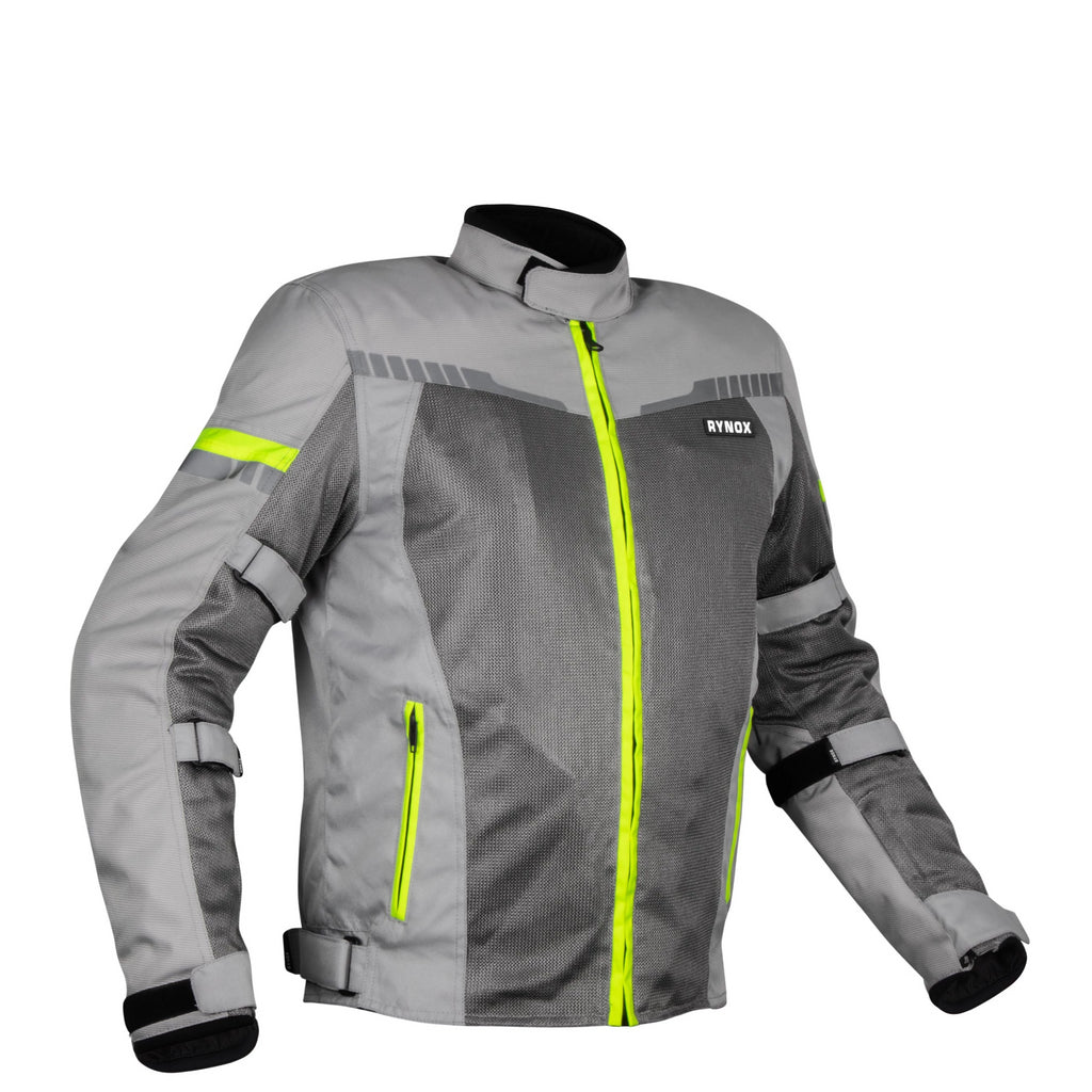 AIR GT 3 Jacket - Grey Hi-Viz Green