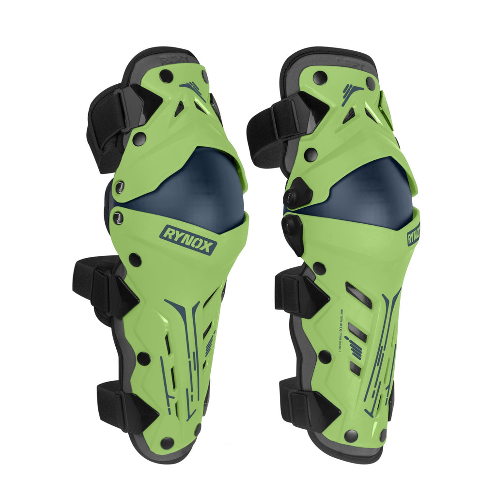 RYNOX BASTION BIONIC KNEE GUARDS - MINT GREEN