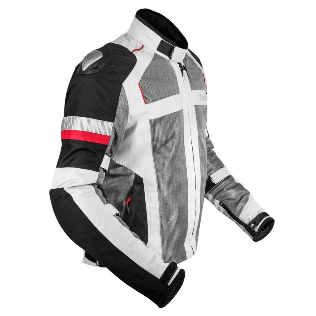 Rynox Storm Evo Jacket Off-White