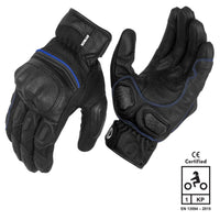 RYNOX TORNADO PRO 3 GLOVES BLACK BLUE