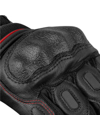RYNOX TORNADO PRO 3 GLOVES BLACK RED