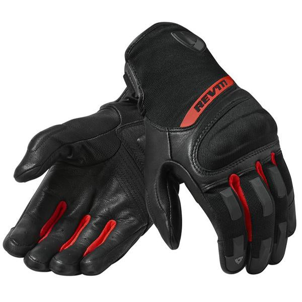 Revit Striker 2 Gloves Black Red