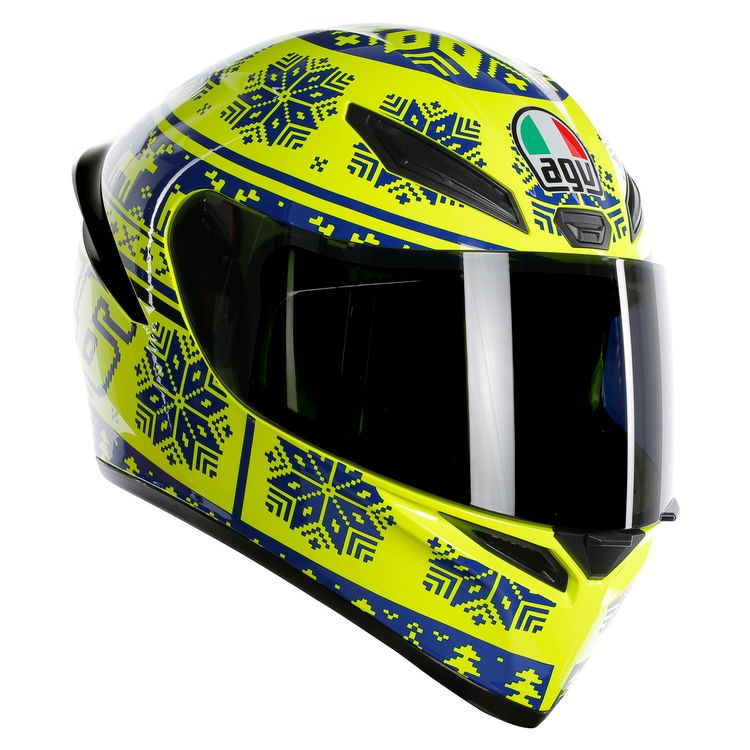 K1 AGV E2205 Top Winter Test 2015