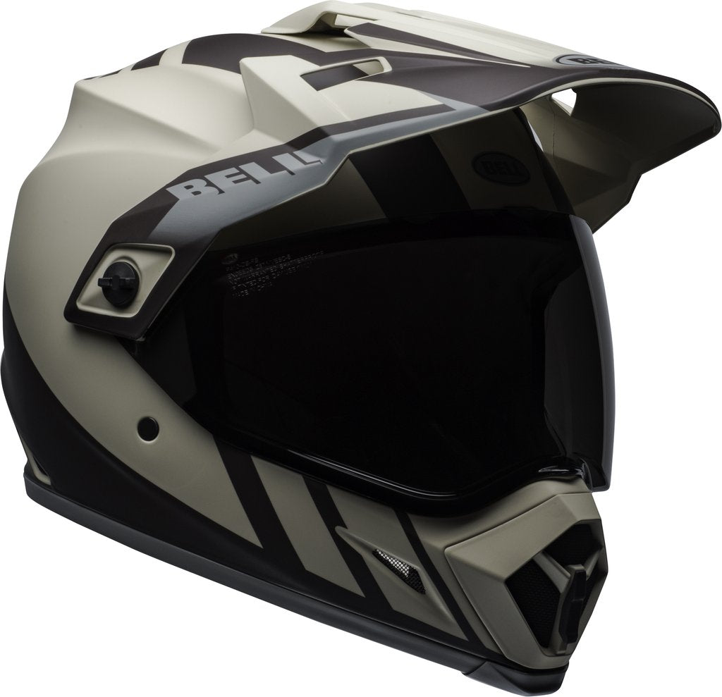 Bell MX-9 Adventure MIPS Dash Helmet - Sand Brown Grey Matte