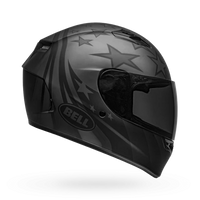 Bell Qualifier Honor Matte Titanium Black Helmet