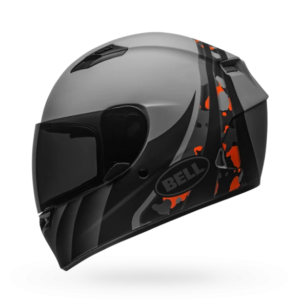 Bell Qualifier Integrity Camo Titanium Orange Helmet