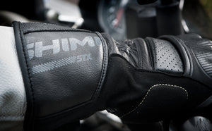 Shima STX Full Gauntlet Gloves - Black Fluro