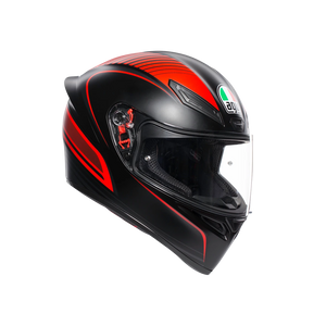 AGV K1 Warmup Matt Black Red