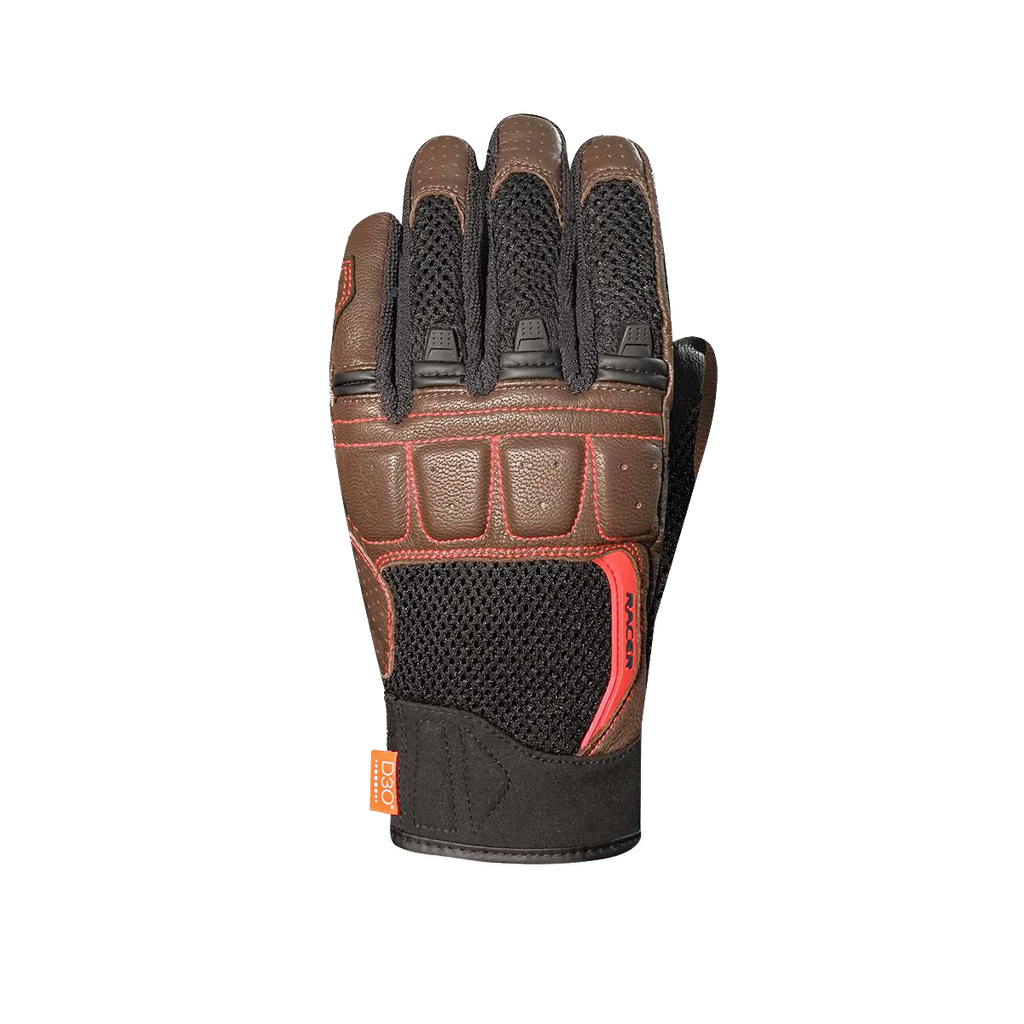 RACER RONIN GLOVES - BROWN