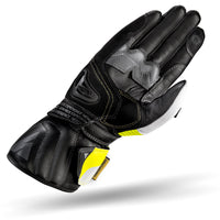 Shima STR-2 Full Gauntlet Gloves - Yellow Fluro