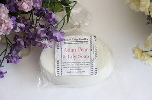 Asian Pear & Lily Soap