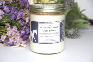 Olaf's Ribbon Soy Candle