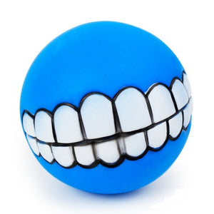 Smile Fetch Ball For Your Dog