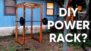How to build a DIY Power Rack