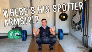 How to bail out of a back squat on your own